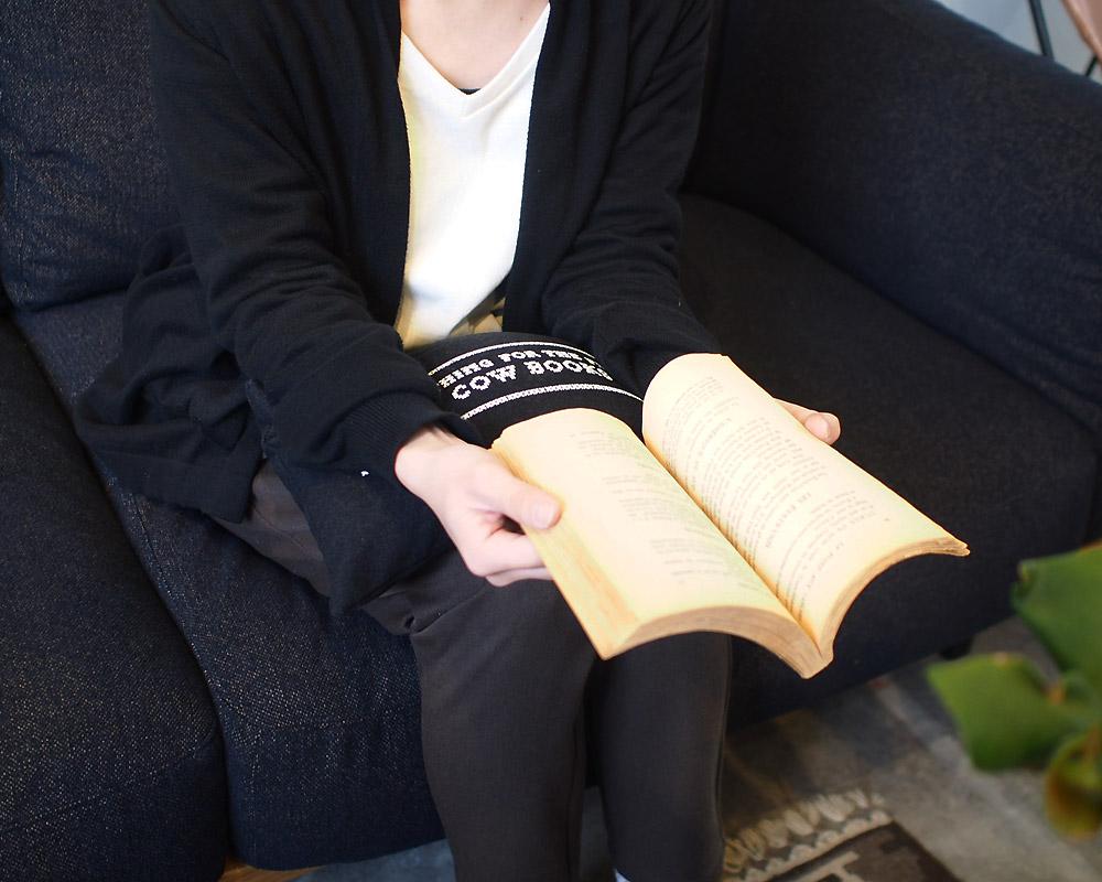 COW BOOKS | MINI PILLOW  ミニピロー