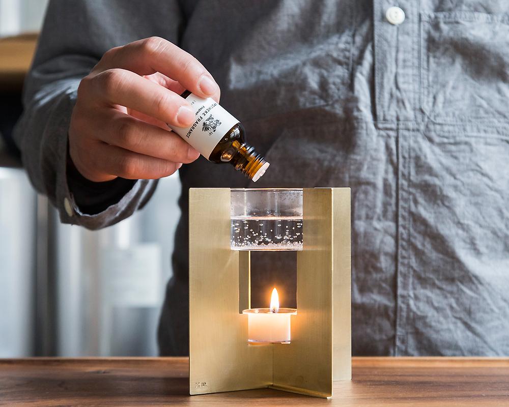 APOTHEKE FRAGRANCE | Fragrance OIL BURNER オイルバーナー