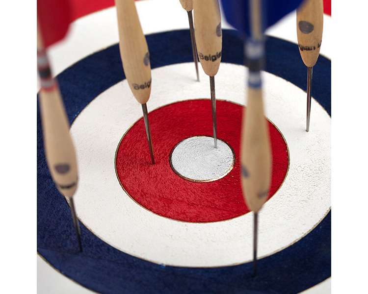 Standard Target & Dart Co.  | Belgian Darts Board Set  ベルジアンダーツボードセット
