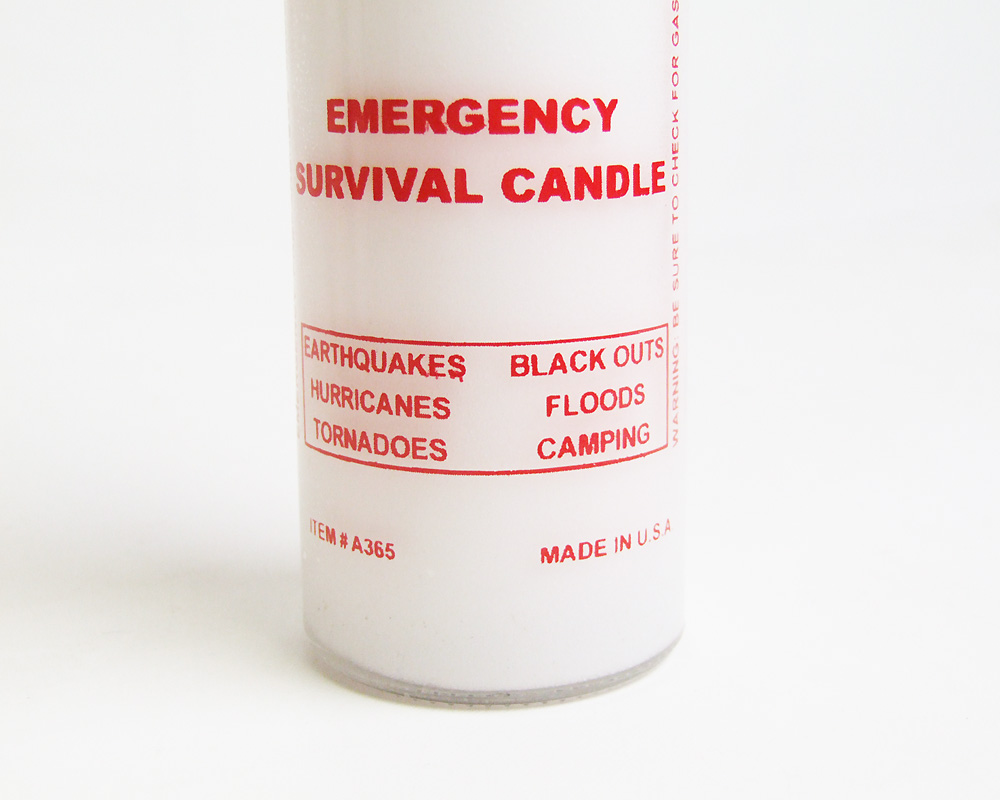 E.P.Products USA | Emergency Survival Candle 120hour  エマージェンシーサバイバルキャンドル