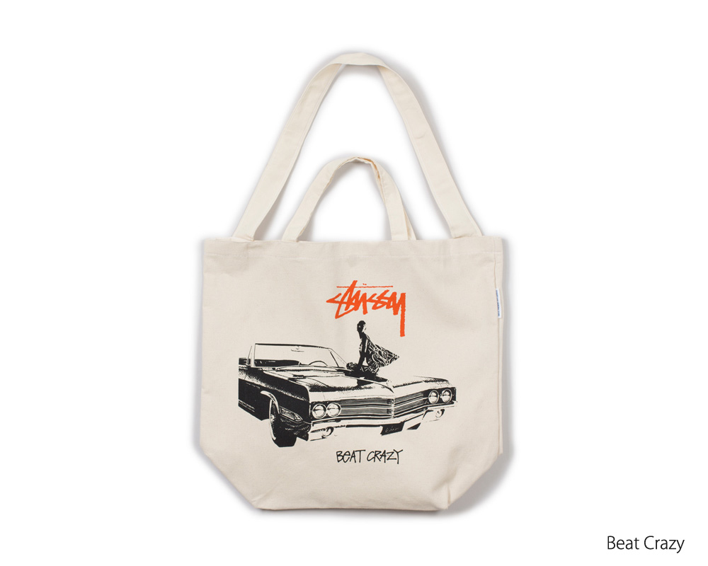 STUSSY Livin' General Store | GS Canvas Art Tote Vol.5  GSキャンバスアートトート