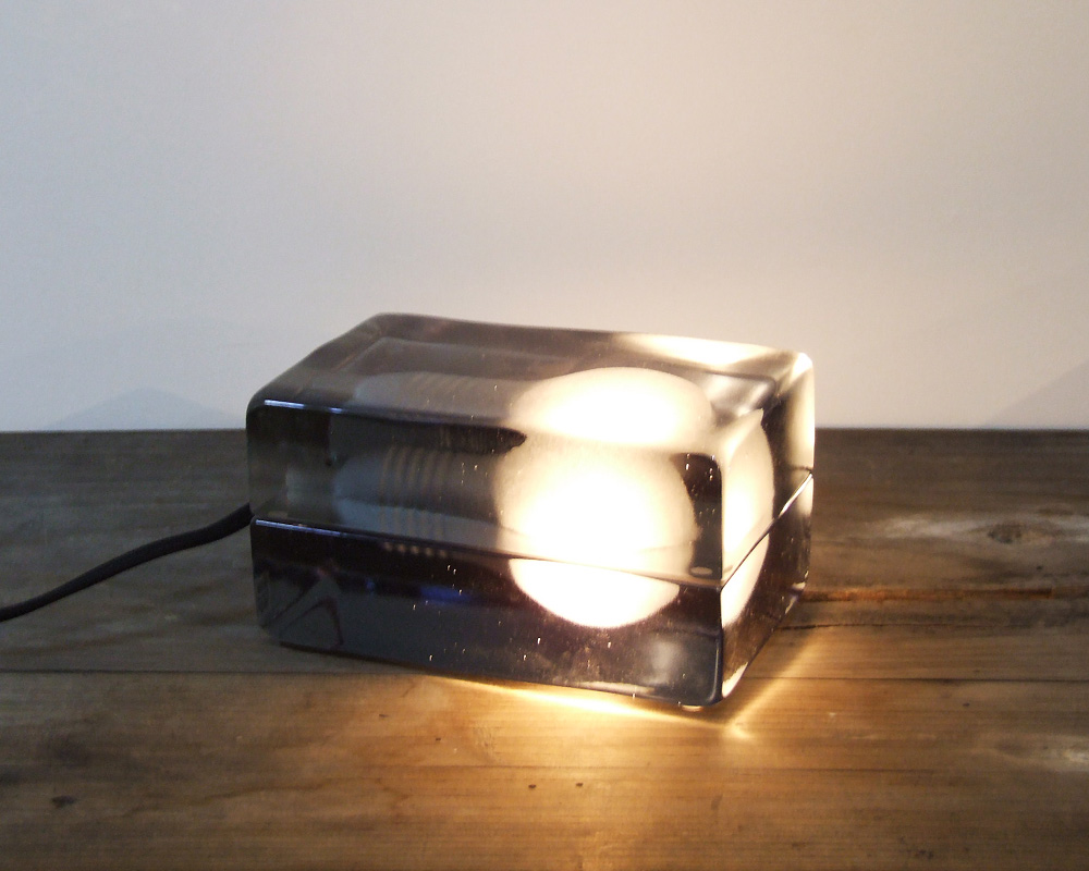DESIGN HOUSE Stockholm  | Block Lamp Smoke Limited ブロックランプ 限定スモーク