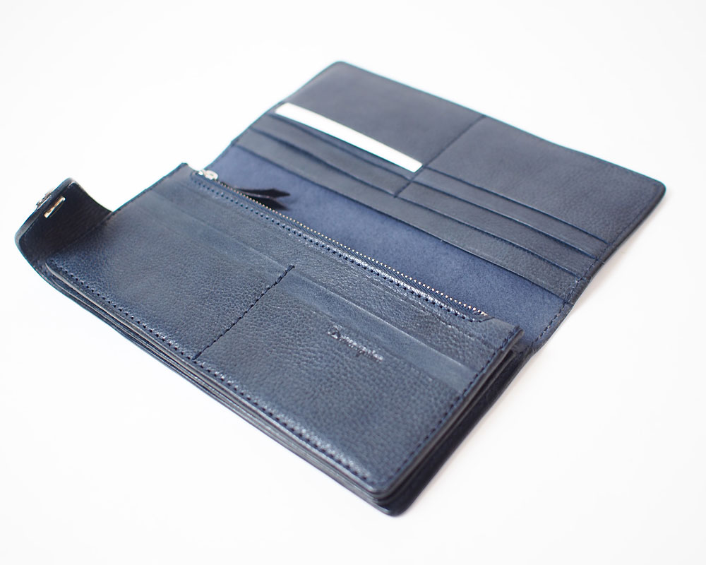 Damasquina | Silver CV Anchor Wallet Large [2color] サークルアンカーウォレットラージ/ 財布