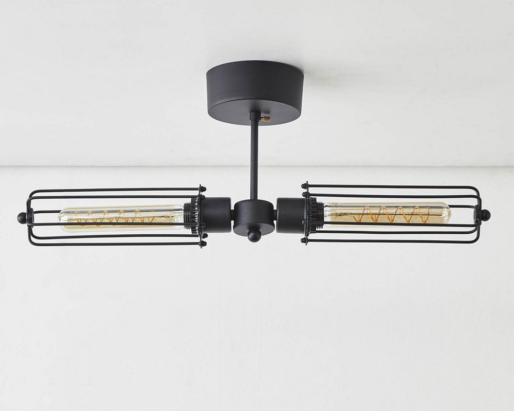 journal standard Furniture | WINCHESTER CEILING LIGHT2 ウィンチェスターシーリングライト2灯