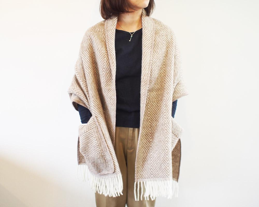 LAPUAN KANKURIT | MARIA Pocket Shawl マリア ポケットショール