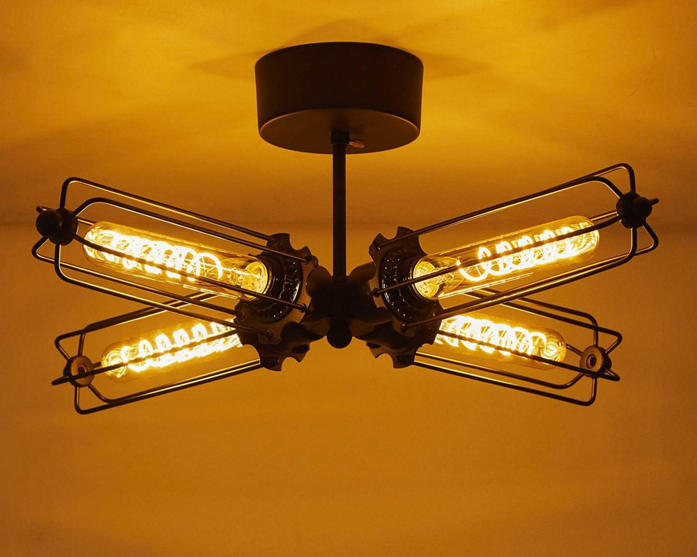 journal standard Furniture | WINCHESTER CEILING LIGHT4 ウィンチェスターシーリングライト4灯
