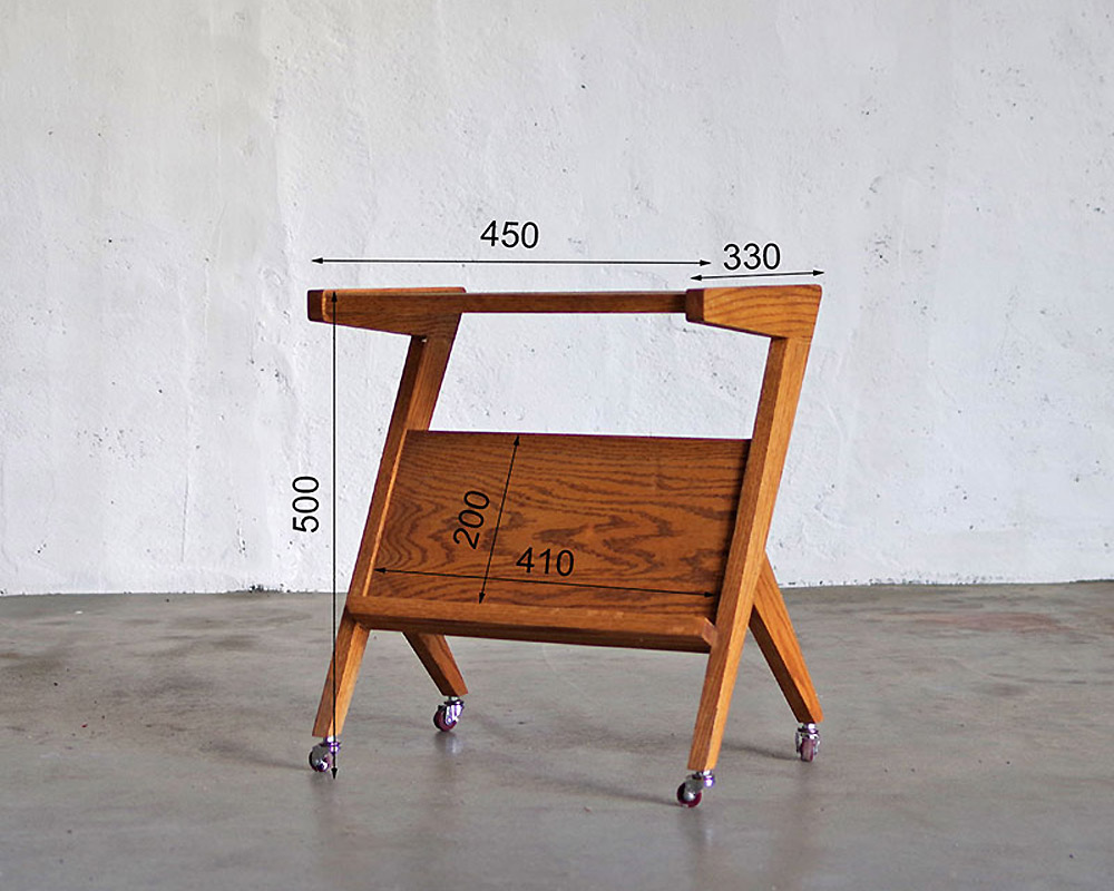 LIFE FURNITURE | BI OAK SIDE TABLE BIオークサイドテーブル