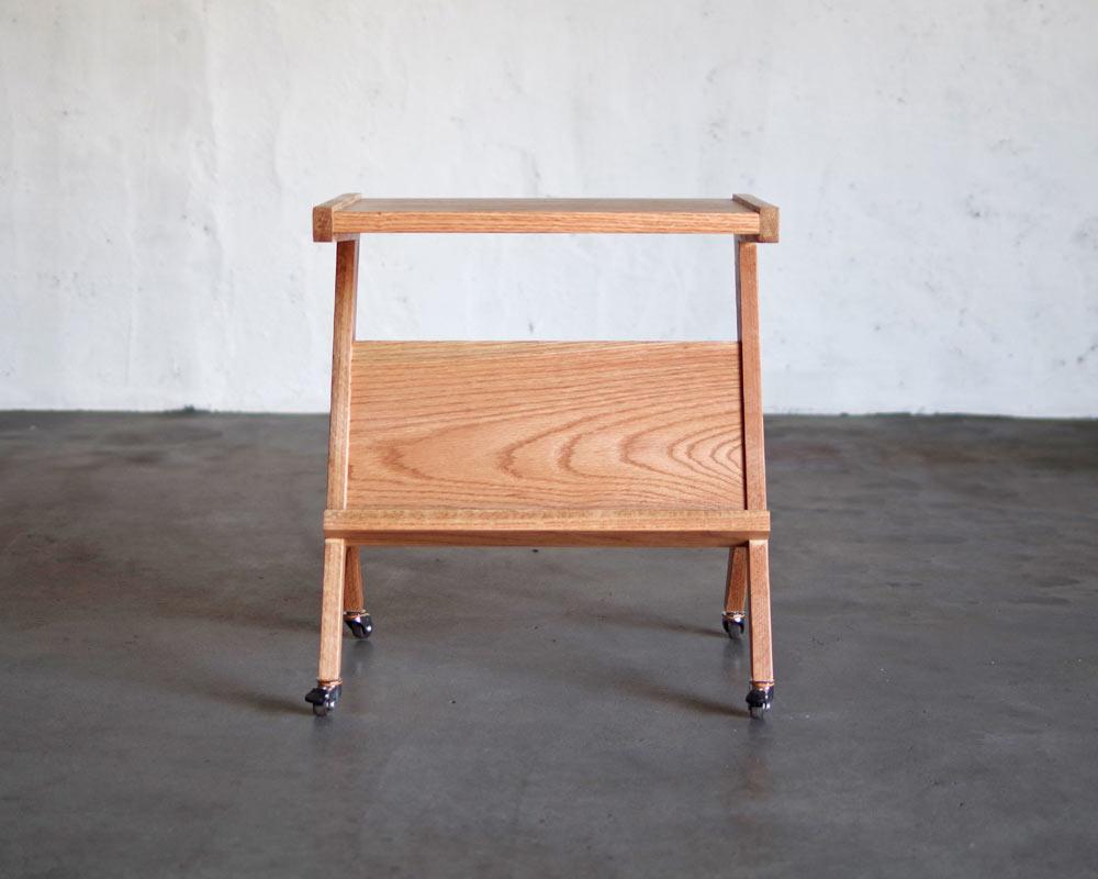 LIFE FURNITURE   BI OAK SIDE TABLE BIオークサイドテーブル