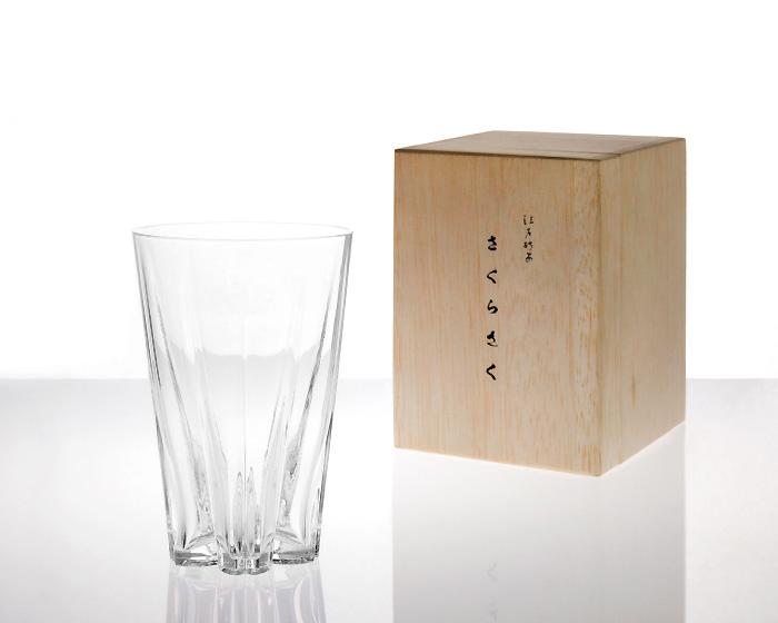 100% | SAKURASAKU glass Tumbler サクラサクグラス タンブラー