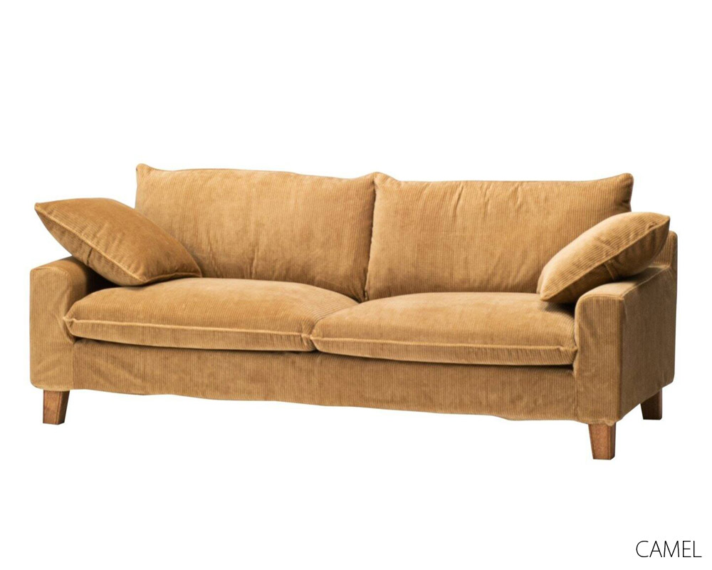 journal standard Furniture | SOPHIA SOFA Corduroy 2.5P [2color] ソフィアソファ コーデュロイ