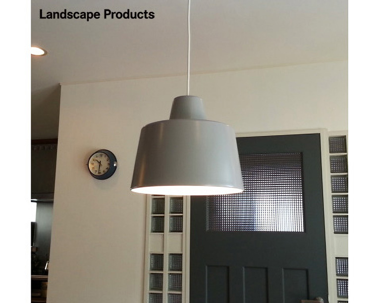 Landscape Products | Ceiling Lamp Gray シーリングランプ グレー