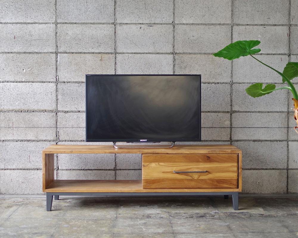LIFE FURNITURE | OLD TEAK TV BOARD [S] オールドチークTVボード
