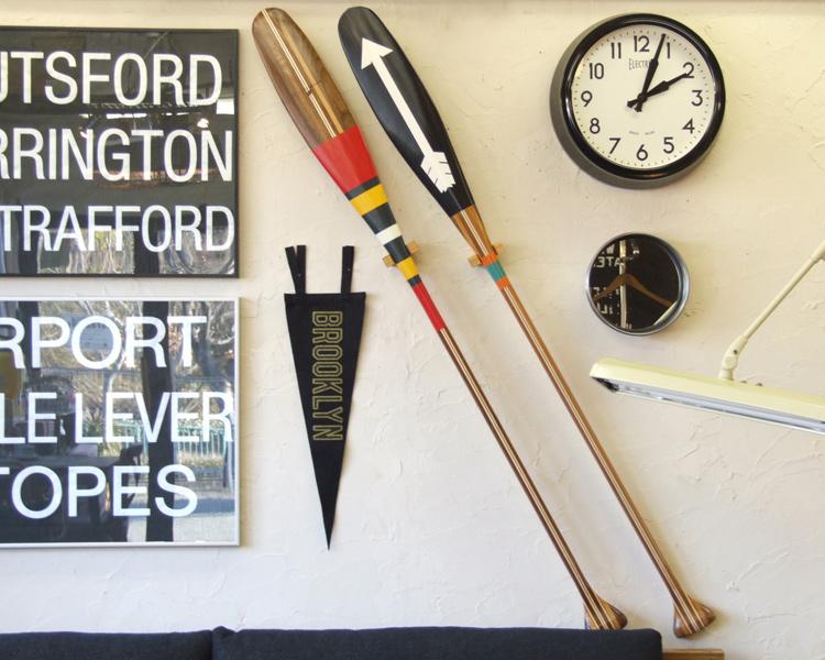 SANBORN CANOE COMPANY   Artisan Painted PADDLE WEST カヌーパドル