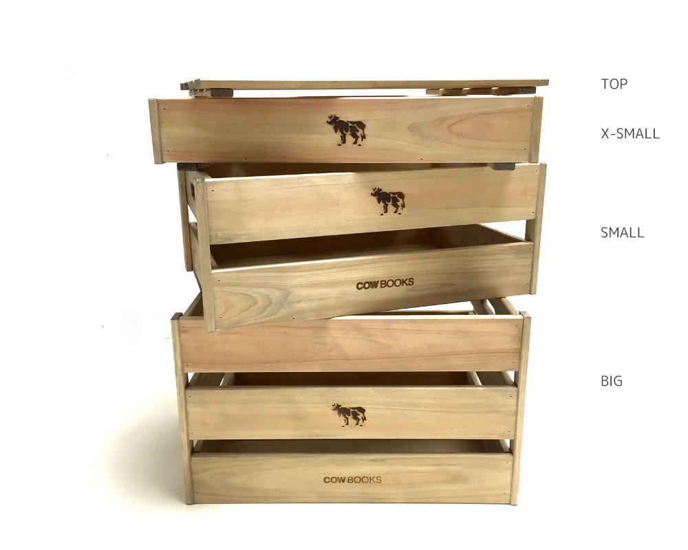 COW BOOKS | Wood Box Big ウッドボックス ビッグ