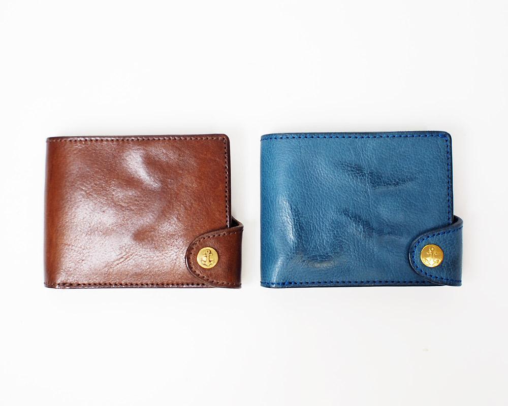 Damasquina | CV Anchor Wallet Small [2color] サークルアンカーウォレットスモール/ 財布