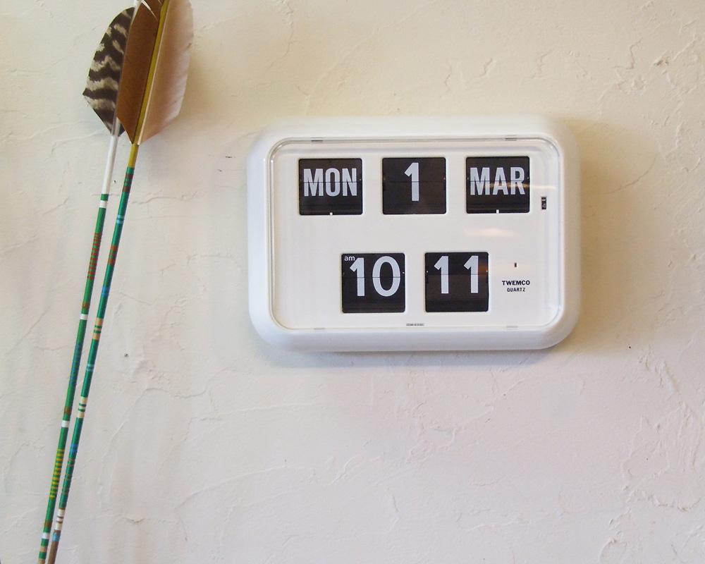 TWEMCO | Digital Calendar Clock QD-35 デジタルカレンダークロック QD-35