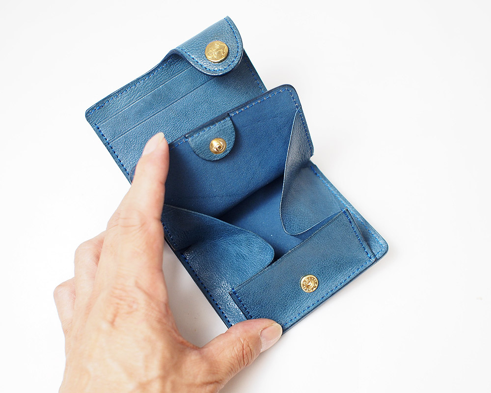 Damasquina | CV Anchor Mini Wallet [3color] サークルアンカーミニウォレット/ 財布