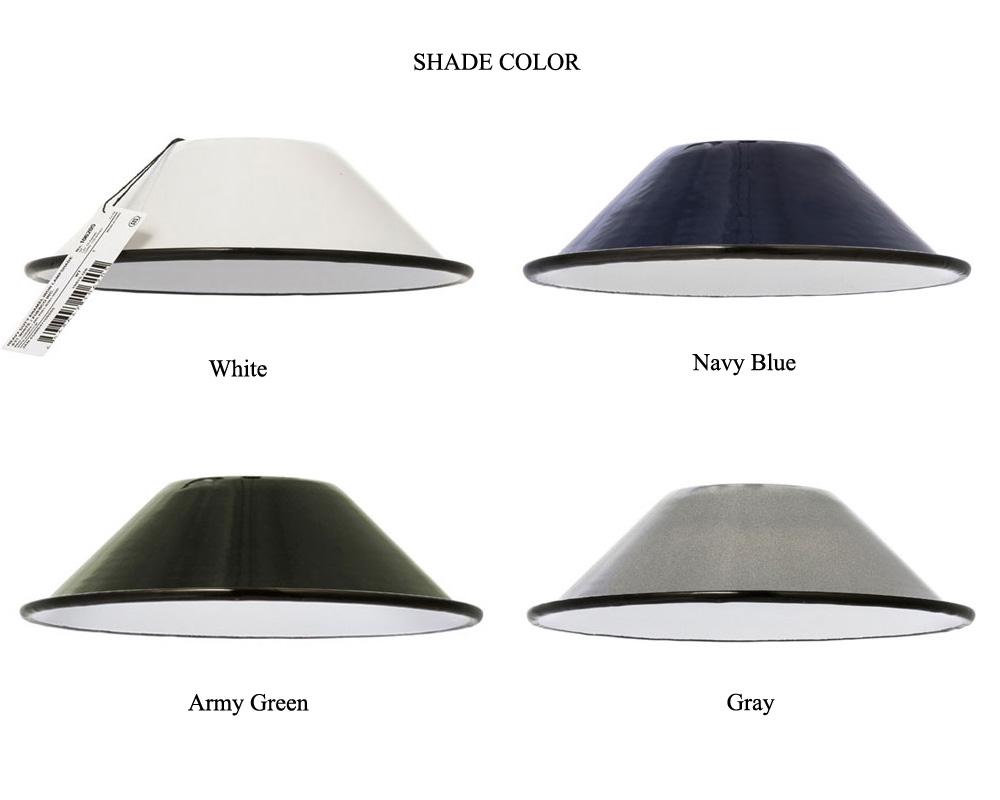 PUEBCO | Heavy Duty Enamel Iron Lamp ヘヴィデューティエナメルランプ