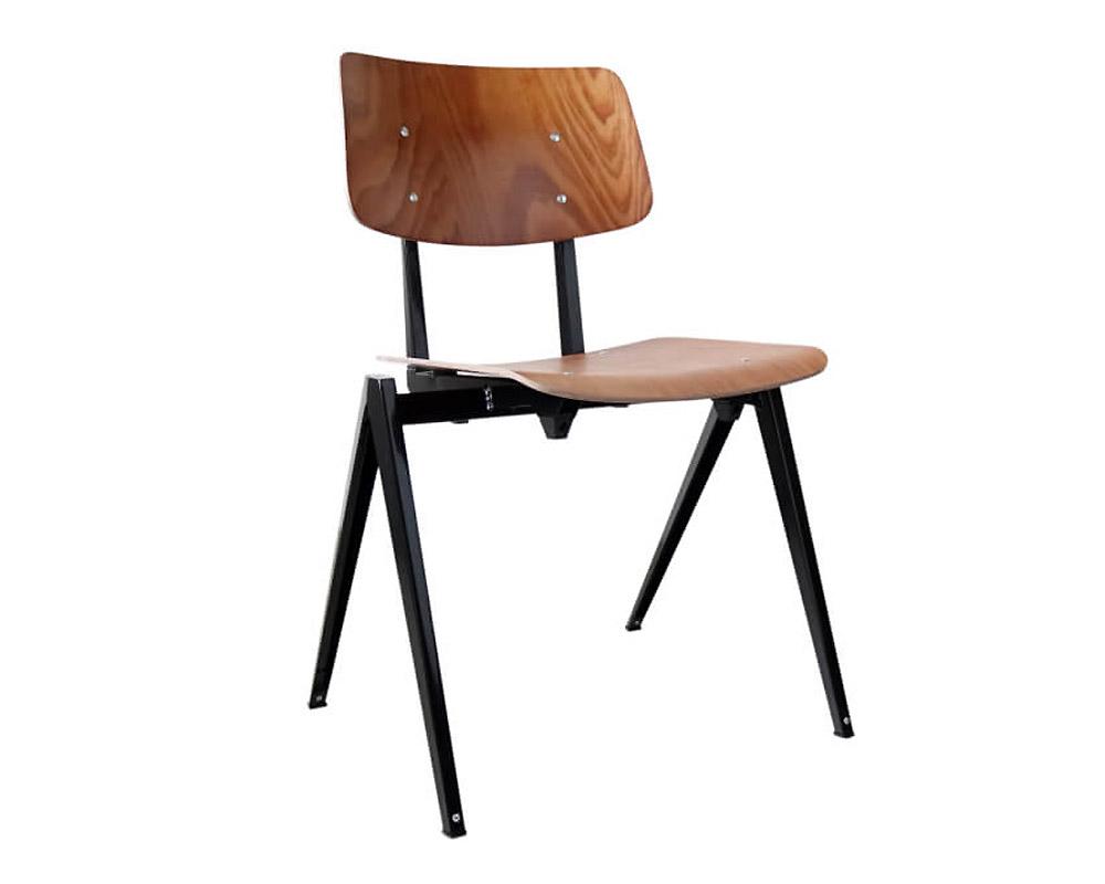 GALVANITAS   S.21 Stacking Chair Black ガルファニタスS21スタッキングチェア ブラック