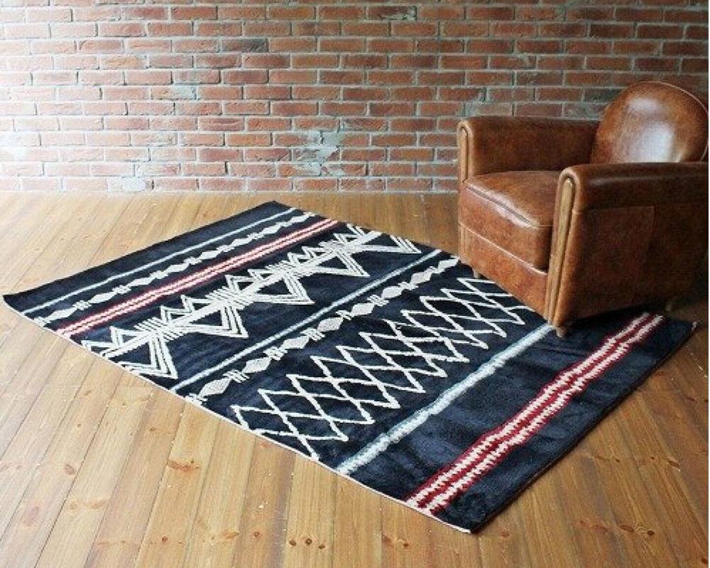 journal standard Furniture   FULANI RUG NV [2size] フラニラグ ネイビー