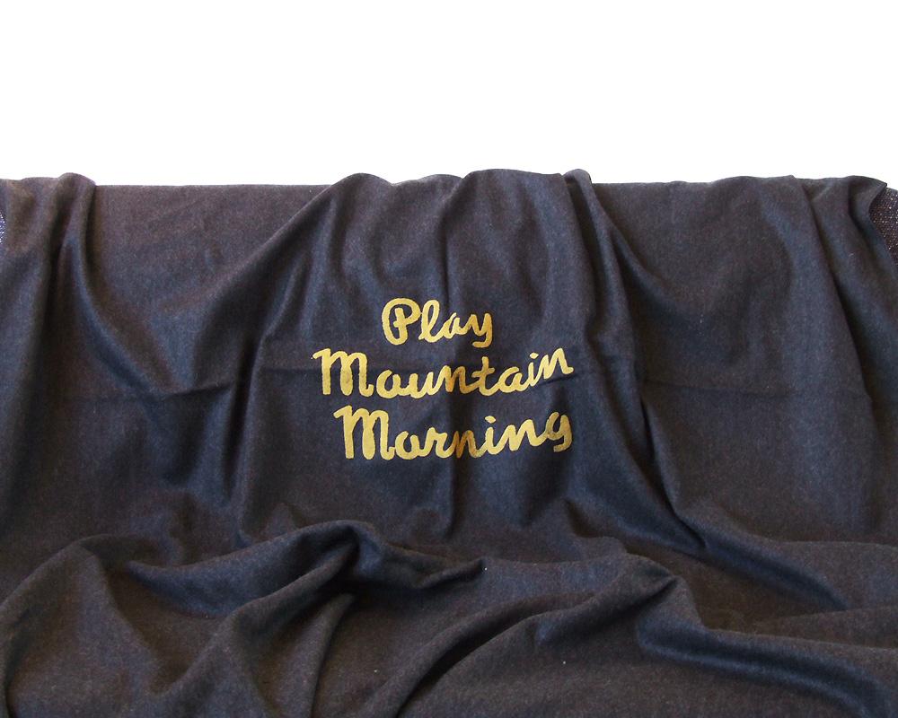 "Landscape Products | ""Playmountain Morning"" Blanket プレマウンテンモーニング ブランケット"