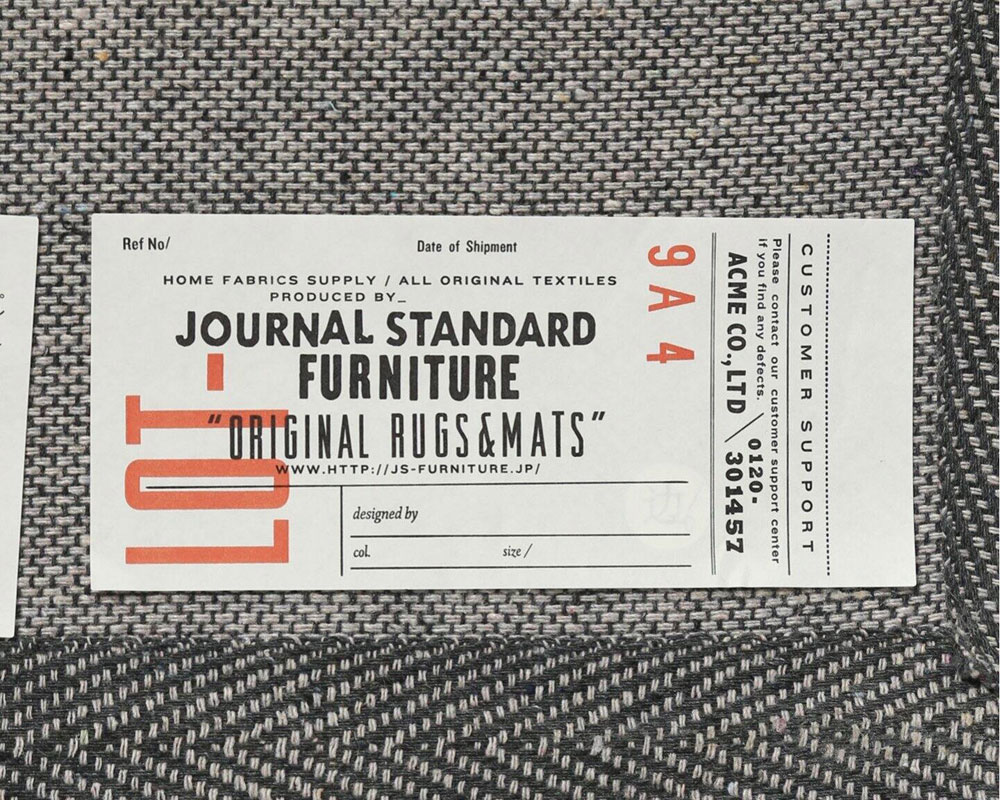journal standard Furniture   FULANI RUG NT [2size] フラニラグ ナチュラル