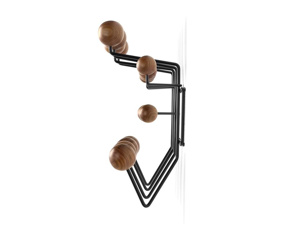 Herman Miller | Hang it all Walnut イームズ ハングイットオール ウォールナット×ブラック