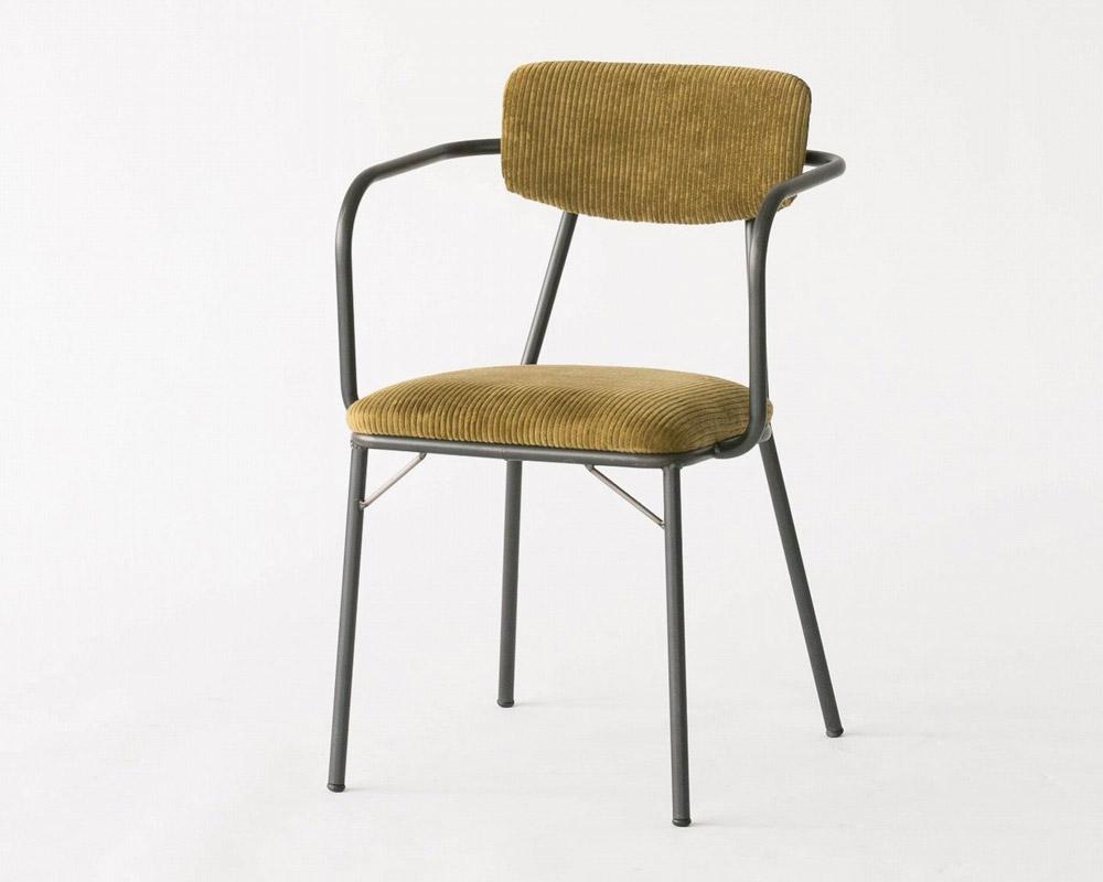 journal standard Furniture | HENRY ARM CHAIR FAB ヘンリーアームチェアファブリック