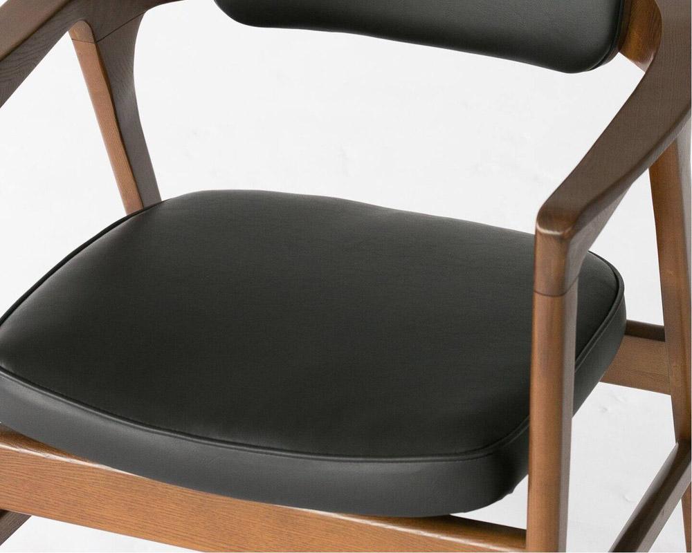 ACME Furniture   WARNER ARM CHAIR_BLACK PVC ワーナーアームチェア PVC