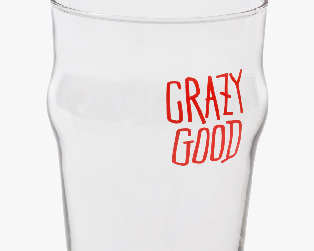 STUSSY Livin' General Store | GS Pint Glass  GSパイントグラス