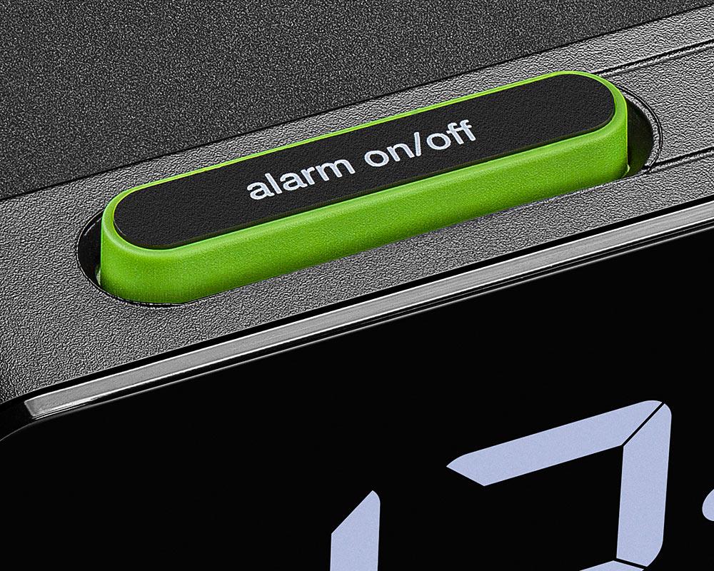 BRAUN | Digital Alarm Clock BC21 デジタルアラームクロックQiワイヤレス充電