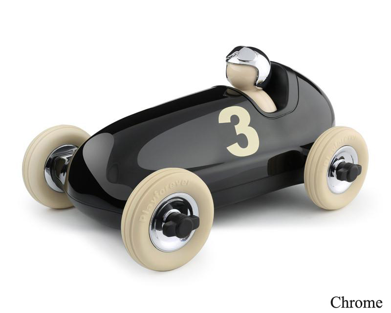 Playforever | CLASSIC Bruno Racing Car Chrome クラシックブルーノ レーシングカー クローム