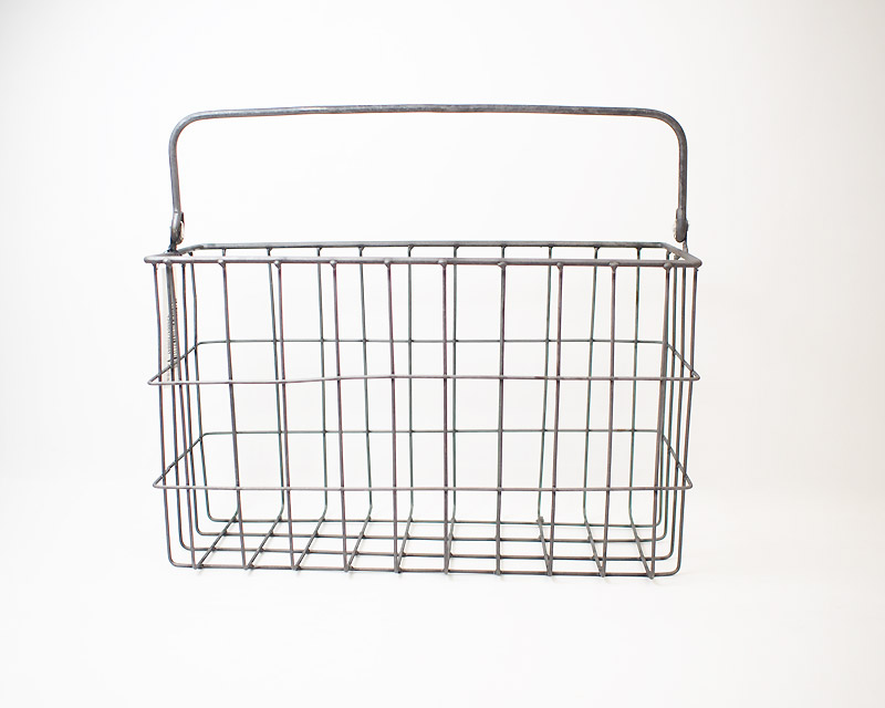 PUEBCO | MAGAZINE WIRE BASKET マガジンワイヤーバスケット