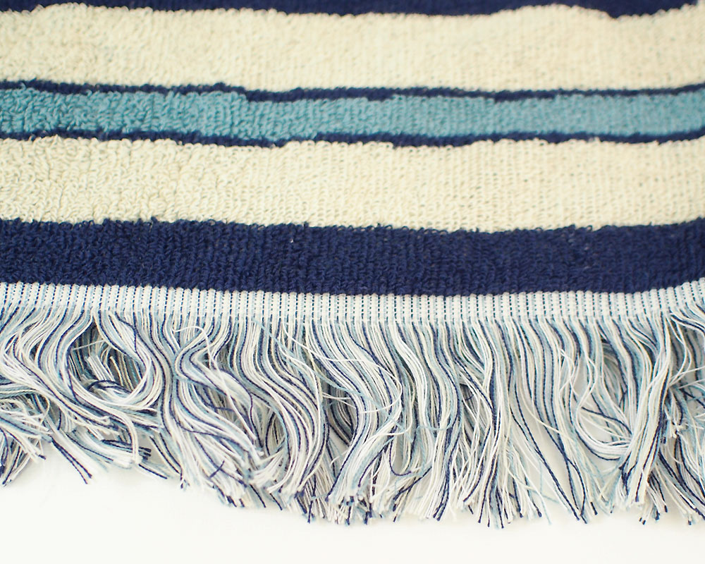 BasShu | Cotton Pile Blanket Native Border コットンパイルブランケット ネイティブボーダー