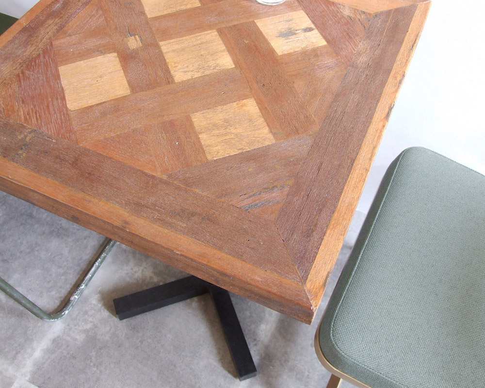 LIFE FURNITURE   PUZZLE CAFE TABLE  パズルカフェテーブル
