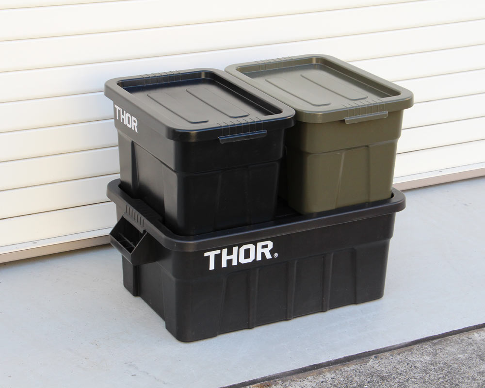 Trust   THOR Large Totes With Lid 22L [3color] ソーラージトートウィズリッド