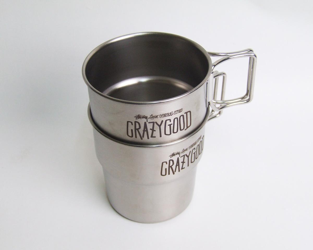 STUSSY Livin' General Store   GS Stacking Mug GSスタッキングマグ