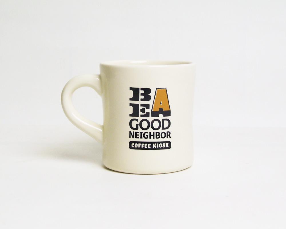 Landscape products   Be A Good Neighbor KIOSK Mug ビーアグッドネイバーキオスクマグ