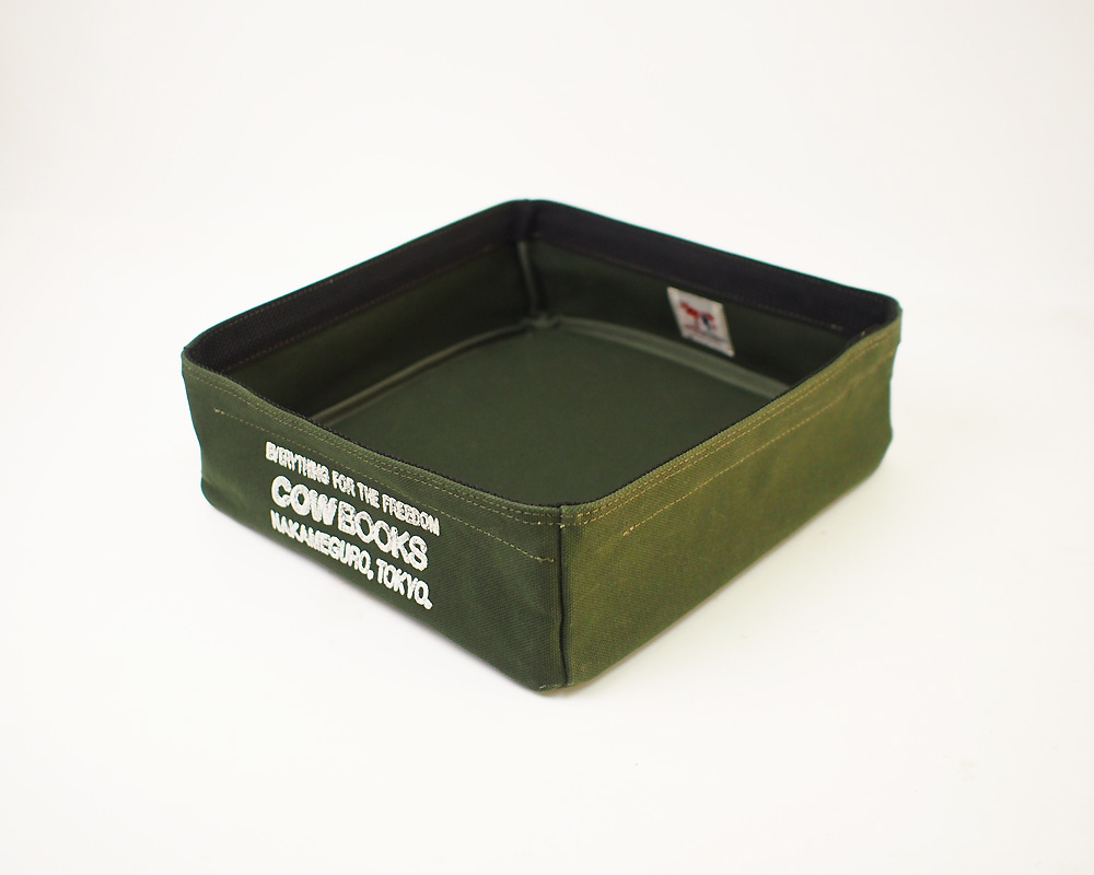 COW BOOKS | Container Tray Square コンテナトレイ スクエア