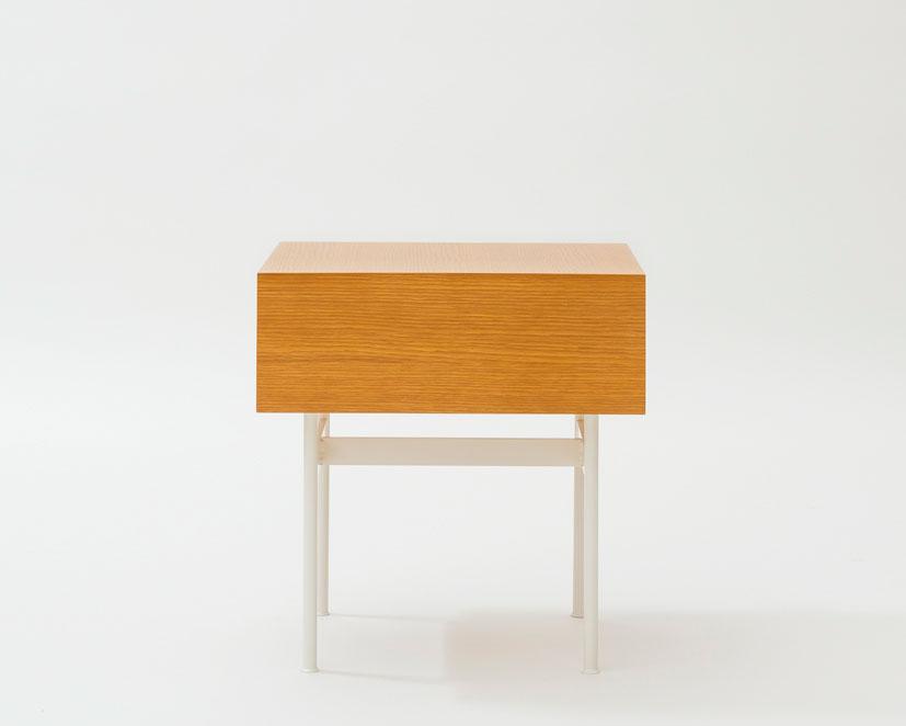 METROCS | Pierre Paulin F181 Drawer Table Oak [2color]  ピエール・ポラン F181ドロワーテーブル オーク