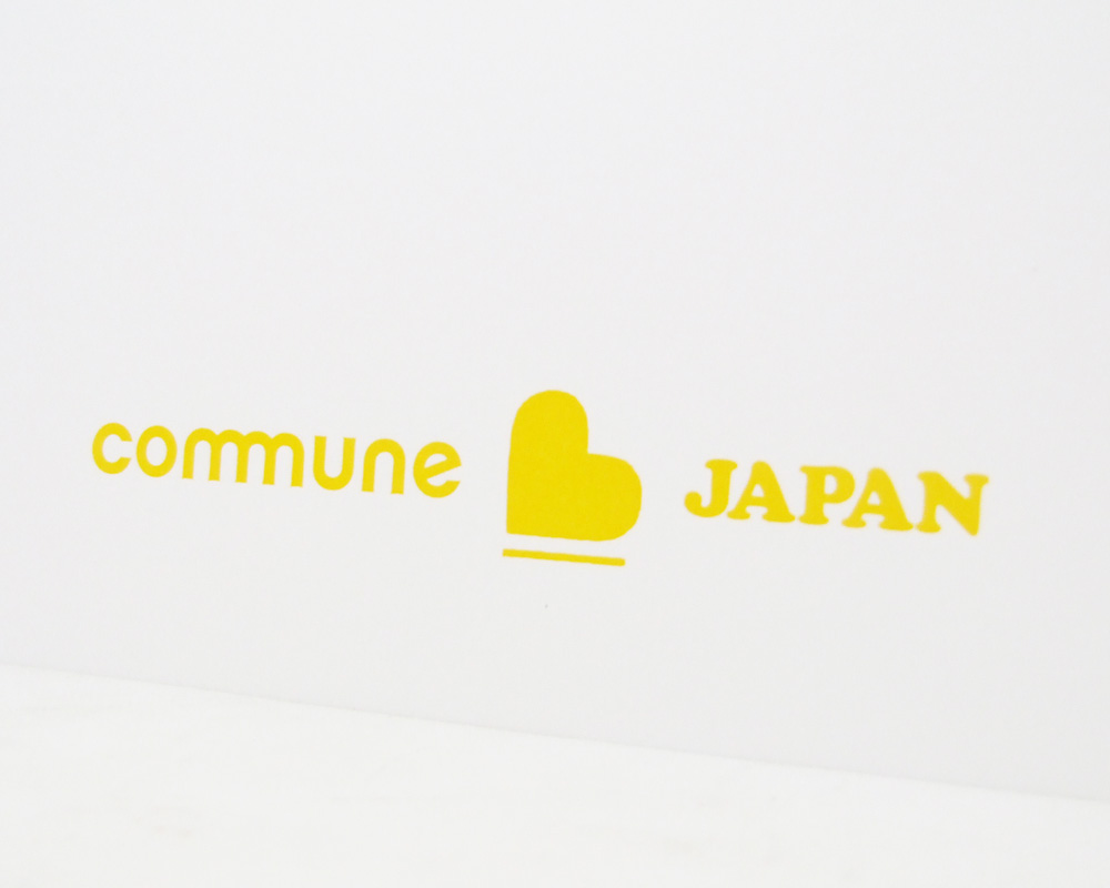 commune * Landscape Products | Letter Press Poster コミューン レタープレスポスター
