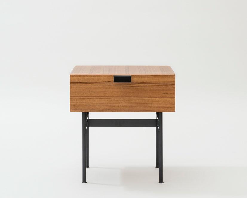METROCS | Pierre Paulin F181 Drawer Table Teak [2color]  ピエール・ポラン F181ドロワーテーブル チーク