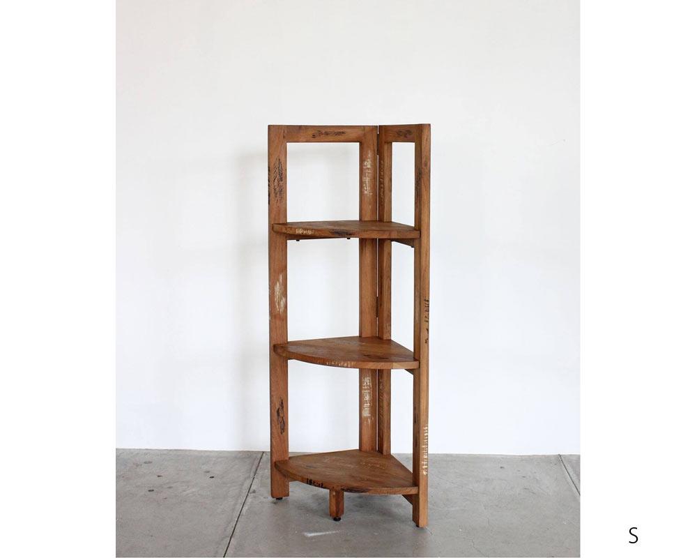 ACME Furniture | TROY CORNER SHELF [2size] トロイコーナーシェルフ