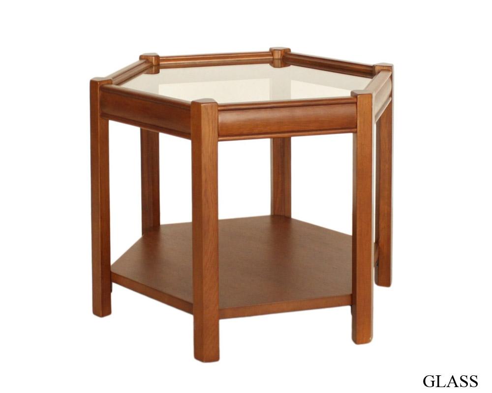 ACME Furniture | BROOKS HEXAGON TABLE ブルックスヘキサゴンテーブル