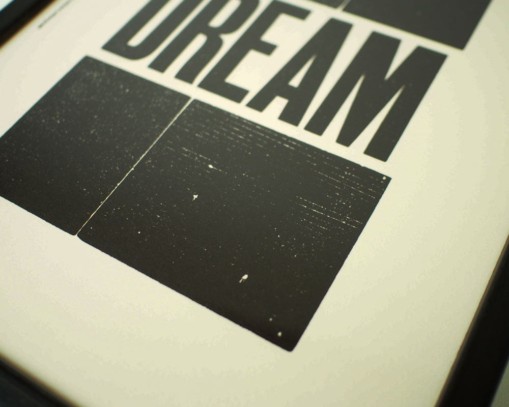A TWO PIPE PROBLEM LETTERPRESS | DREAM POSTER ドリーム ポスター