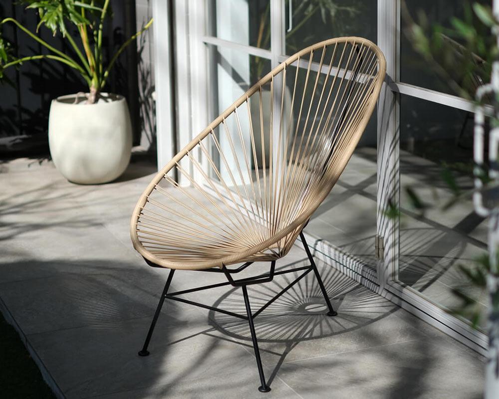 METROCS | Acapulco Chair Limited Sand Khaki アカプルコチェア 限定サンドカーキ