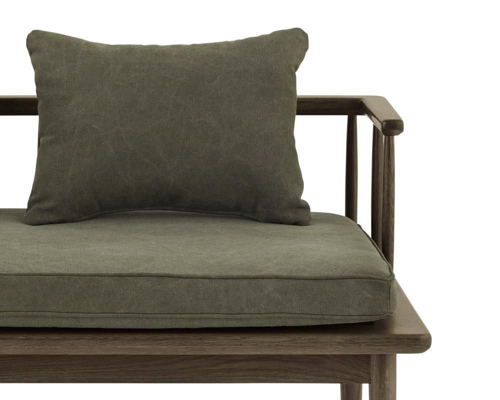 journal standard Furniture | ALVESTA BENCH KHAKI アラベスタベンチ カーキ