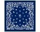DETAIL | Paisley Bandana Rug Navy [3size] ペイズリーバンダナラグ ネイビー