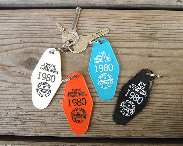 STUSSY Livin' General Store | GS Key Tag 2015  GSキータグ