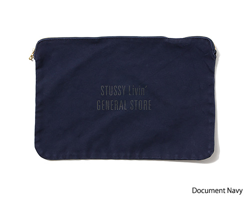 STUSSY Livin' General Store | Canvas Pouch Collection キャンバスポーチ